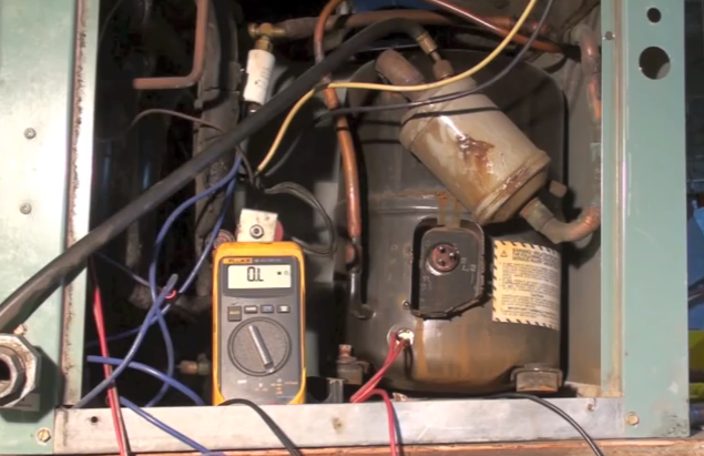 Compressor problems - Gray Cooling Man Air Conditioning