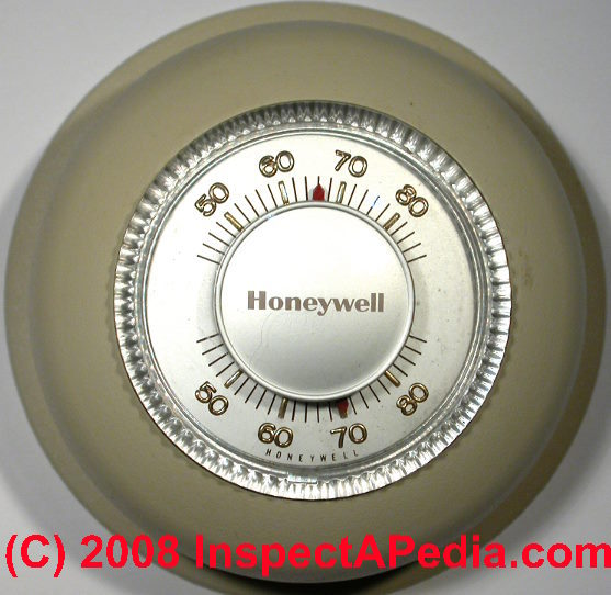 Thermostat Gray Cooling Man Air Conditioning Repair Advice