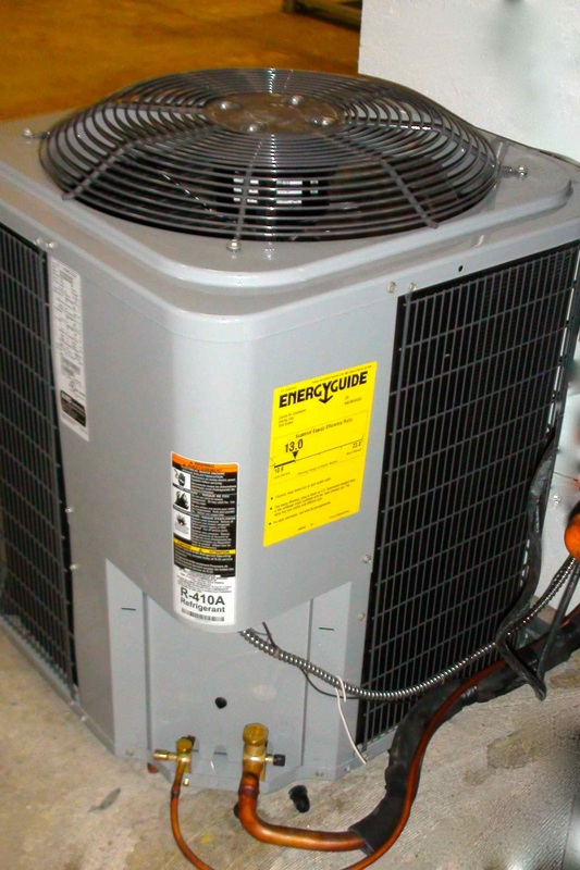 Troubleshoot The Air Conditioner Gray Cooling Man Air